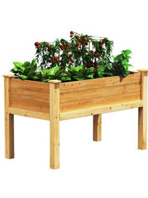 Greenes Cedar Elevated Garden-Bed