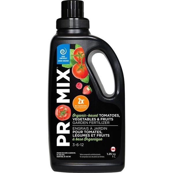 PRO-MIX Organic-Based Liquid Fertilizer - Tomatoes, Vegetables & Fruits 3-6-12