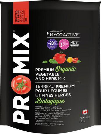 PRO-MIX Organic Vegetable & Herb Mix