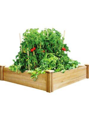 4X4 Greenes Raised Garden-Bed