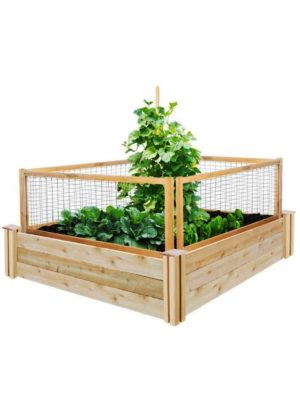 4X4 Raised Garden-Bed with CritterGuard
