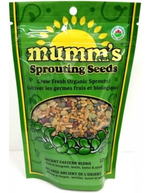 Organic Ancient-Eastern-Blend Sprouting Seeds