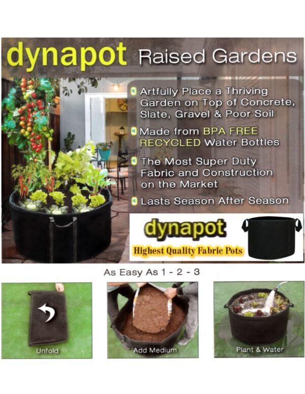 DynaPot Fabric Grow Pots